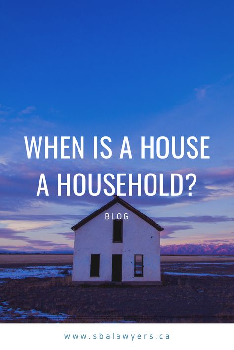 When Is A House A Household Household Canadian Universities