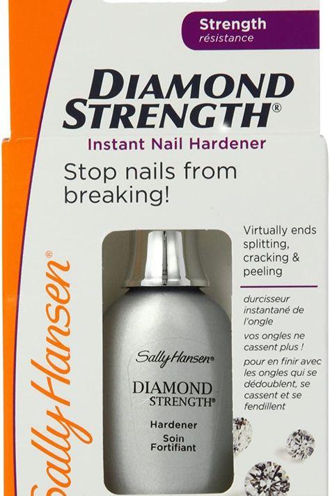Sally Hansen Diamond Strength Instant Nail Hardener 3478 Clear, 0.45 Fl Oz, Pack of 1