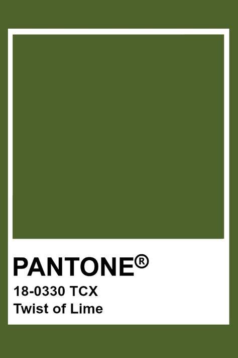 Pantone Twist of Lime