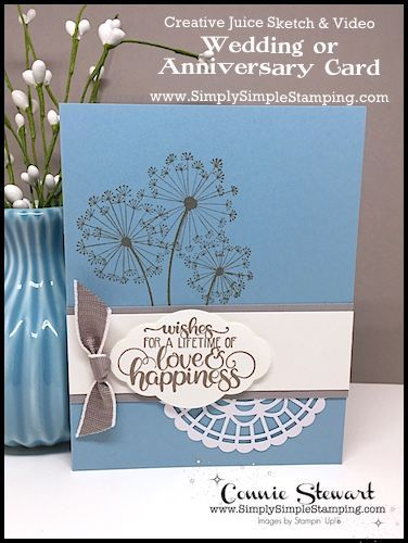 Wedding Or Anniversary Card Speedy Delivery Simply Simple Stamping Wedding Cards Handmade Anniversary Cards Wedding Anniversary Cards