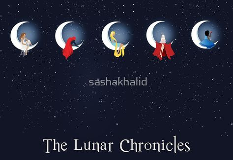 the lunar chronicles by sashakhalid