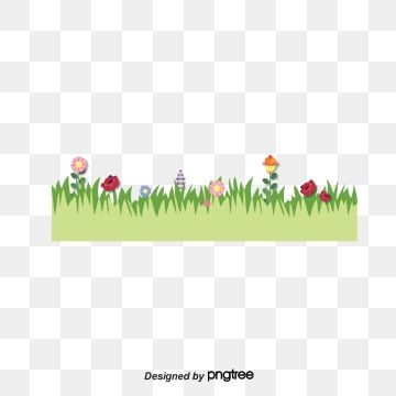 Garden Lawn Png Vector Material Png And Vector Clip Art Lawn Flowers