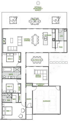 Are You Looking For The Latest In Eco House Design An Iris Energy Efficient House Plan From Green Homes A Maquetes De Casas Plantas De Casas Arquitetura Casas