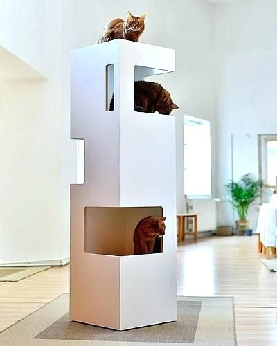 Modern Cat Tower Designer Cat Furniture Amazing Design Designer