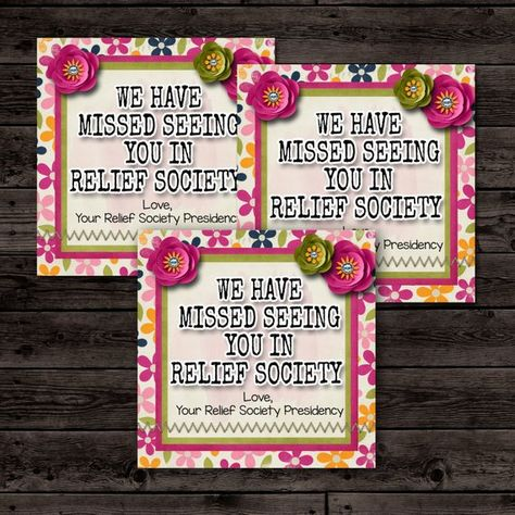 List of Pinterest relief society printables cards pictures