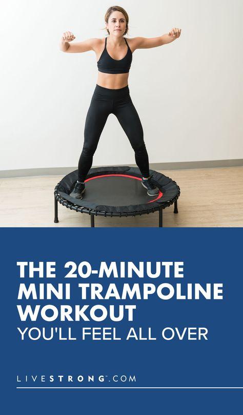 Rebounder Workout, Bowflex Workout, Mini Trampoline Workout, Bikini Competition Training, Fitness Workout For Women, Fitness Models, Wellness Fitness, Yoga Fitness, Fitness Fun