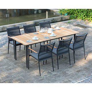 Spider Tisch 160x90 Cm Zebra Gartenmobel Gartentisch Set