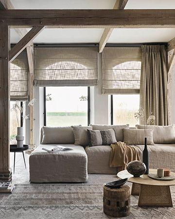 Nieuwe Blog Wat Weet Jij Van Vouwgordijnen Mrwoon Raamdecoratie Landelijke Gordijnen Woonkamergordijnen Interieur Woonkamer