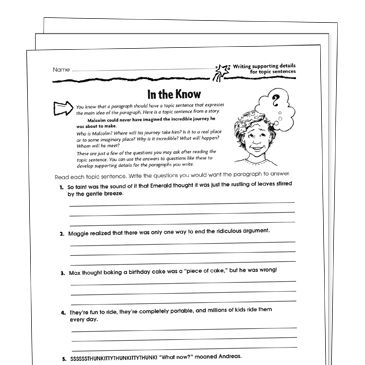 4th Grade Worksheets Printables Lesson Plans Scholastic In 2020 Main Idea Worksheet Reading Informational Texts 2nd Grade Worksheets