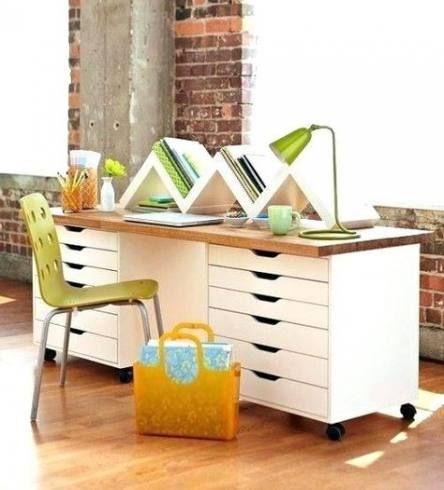 55 Ideas Craft Table With Storage Desks Diy Furniture Home Decor Craft Tables With Storage
