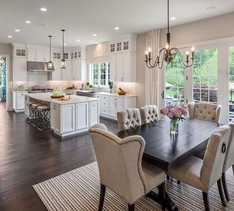Cabinets Love this layout. Lots of light streaming in, neutral colors, textures, fabrics