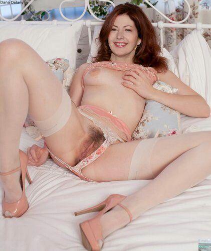 delany celebrity nude Dana fake