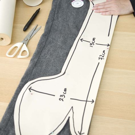 Dog Draft Excluder Sewing Pattern