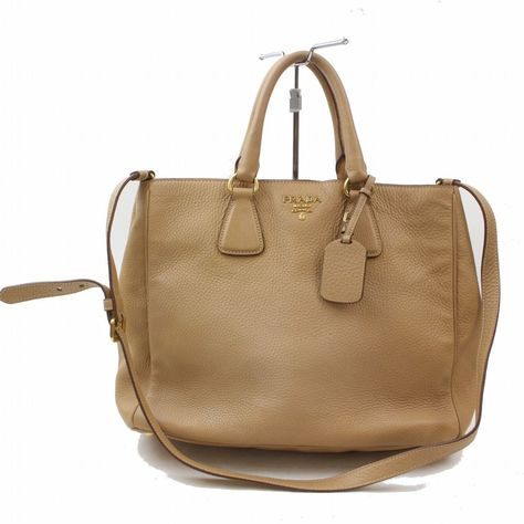 d56770228be6 Authentic Prada Shoulder Bag Light Brown Leather 278790 #fashion #clothing  #shoes #accessories #womensbagshandbags  #seemorepradalightbrownleathershoulderbag ...