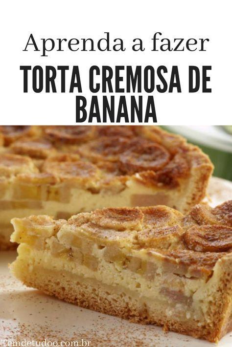 Aprenda A Fazer Um Delicioso Bolo De Banana Receitas Receita