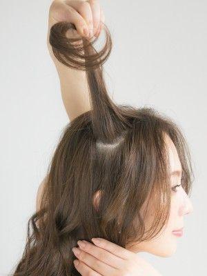 40代のまとめ髪に 大人アップヘアの簡単ヘアアレンジ 簡単ヘア