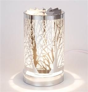 Spinning Touch Sensitive Aroma Lamp White Tree White Tree Lamp Wax Warmers