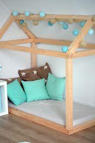 Kinderbett selber bauen  Die besten 25+ Blaubär Ideen auf Pinterest | Spielhaus für kinder ...