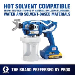 Graco Tc Pro Plus Cordless Handheld Airless Paint Sprayer At Lowes Com In 2020 Paint Sprayer Sprayers