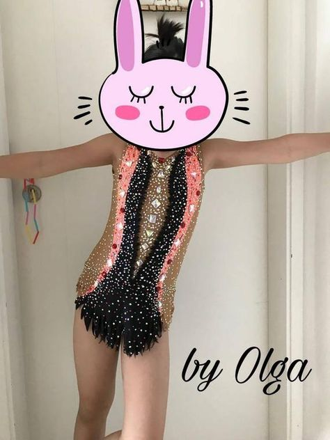 Made To Measure Rhythmic Gymnastic Leotard Combine Your Colors 3000+ crystals