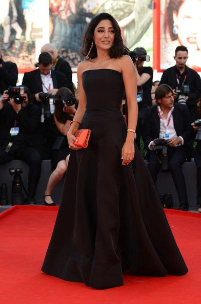 Golshifteh Farahani Wearing Valentino Couture at the Opening Ceremony and 'Gravity' Premiere during the Venice Film Festival at the Palazzo del Cinema on August 2013 in Venice, Italy.