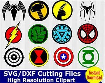 Image Result For Avengers Free Svg Files Superhero Clipart Logo Clipart Cricut