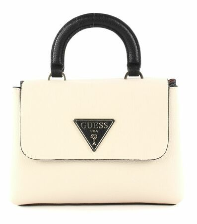 GUESS Tasche in beige schwarz