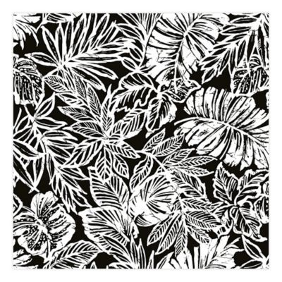 Roommates Batik Tropical Leaf Peel Stick Wallpaper Bed Bath And Beyond Canada Peel And Stick Wallpaper Tropical Leaves Peelable Wallpaper
