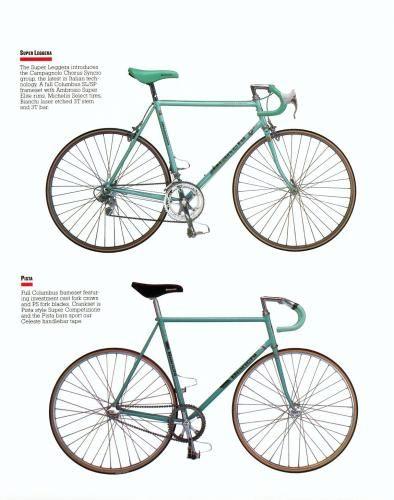 Bianchi Bicycle Catalog 80s Bianchi Bicycle Bicycle Bike Seat