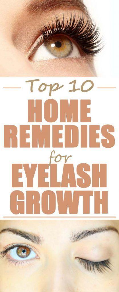 eyelash natural growth home remedies