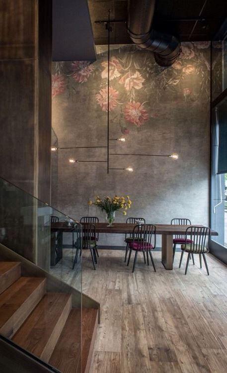 40 Urban Style Interior Design Ideas Urban Industrial Decor Dining Room Industrial Minimalist Dining Room