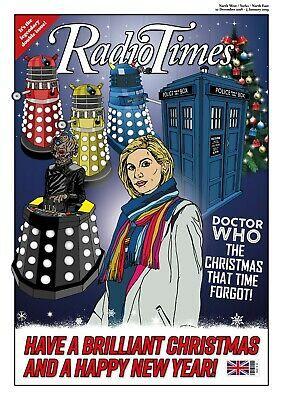 Christmas Radio Times Doctor Who Christmas Card A5 Size
