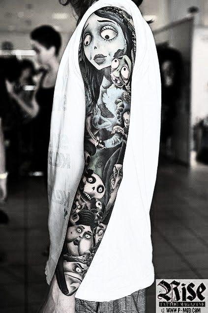 tim burton tattoos | Tumblr