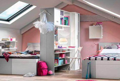 Cloison Modulo Armoires Bureaux Lits Cloison Chambre Pour