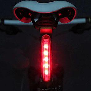 Led Bike Light Rear Bike Tail Light Safety Light Mountain Bike Mtb Bicycle Cycling Waterproof Portable Alarm Warning Aaa Battery Cycling Bike Moon Ipx 4 Bike Lights Bike Lights