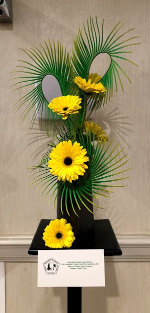 Gerbera Daisy Sago Palm Leaves Trick Dianthus With Images