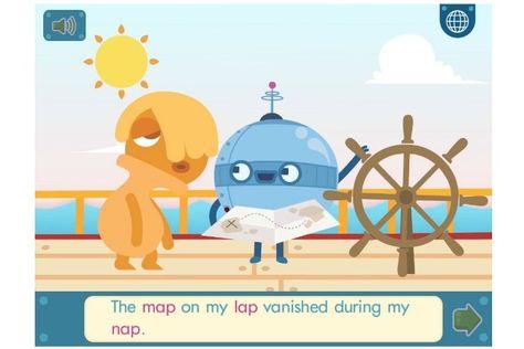 Endless Wordplay app is great for beginning readers.