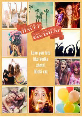 Birthday Card Photo Upload Photoshop Pics Corporate Brochure Design Happy Birthday Banners