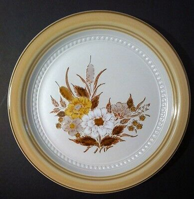 CROWNING FASHION DINNER PLATE  TAWNY WILLOWS  BY JOHANN HAVILAND JAPAN