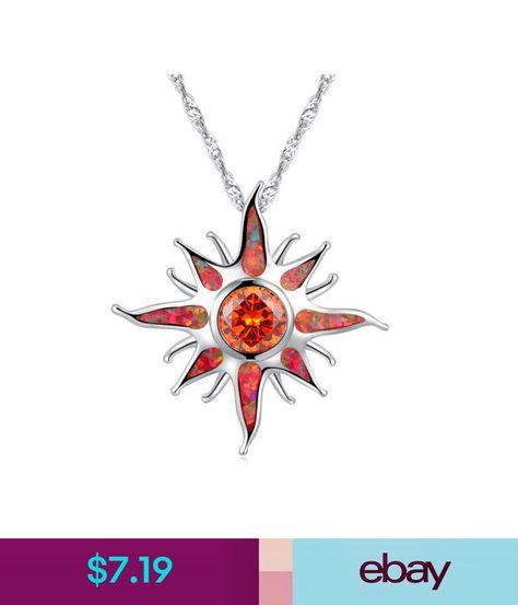 """Orange Fire Opal Orange Garnet Silver Women Jewelry Gems Pendant 1 1//4/"""" OD5964"""