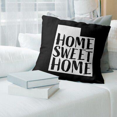 East Urban Home Polyester Pillow Wayfair Suede Pillows Throw Pillows Sweet Home