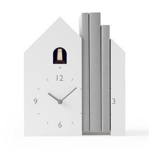 Nendo Bookend Cuckoo Clock Moma Design Store In 2020 Cuckoo Clock Clock Bookends