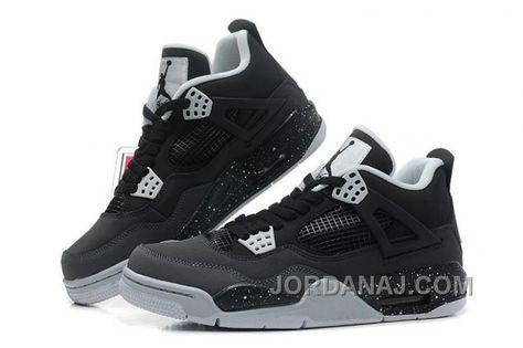 san francisco 03cc5 c2086 Air Jordan 4 (IV) Retro Stealth-Oreo Dark Grey Mid Grey-LT Grey-White