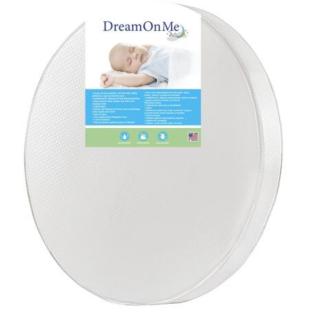 Dream On Me 4 Thick Round Crib Mattress Walmart Com Round Cribs Crib Mattress Dream On Me