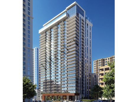 Lmc Tops Out Apartment High Rise In Midtown Atlanta Outdoor Lounge Area Luxury Apartments Apartment