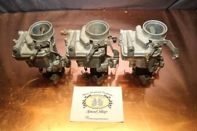 NOS 3x1 Tri Power Carburetor Marvel Schebler 1bbl JDU