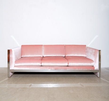 When Two Trends Collide 9 Beautiful Pink Velvet Sofas Pink