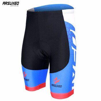 Men/'s Cycling Shorts 3D Gel Padded Short Pants MTB Mountain Bike Riding Shorts