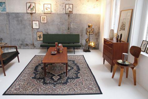 Van Ons Vintage Deens Design Kast En Gispen Bank Op De