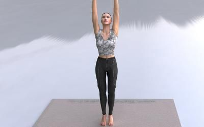1 Tadasana Mountain Pose Asana Mountain Pose Yoga Postures